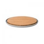 Доска бамбуковая с тарелкой BergHOFF