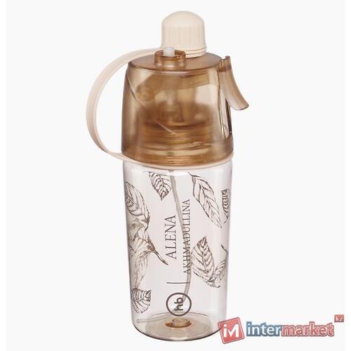 Бутылочка Happy Baby для воды с распылителем by AA 10024 Beige