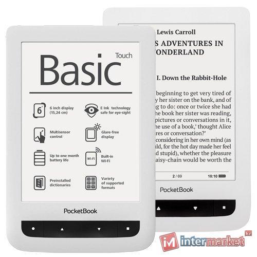 Digital reader, PocketBook Basic Touch 624, 6