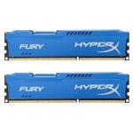 Комплект модулей памяти Kingston HyperX Fury HX318C10FK2/8, DDR3, 8 GB