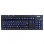 Клавиатура A4Tech KD-126-1 Black USB