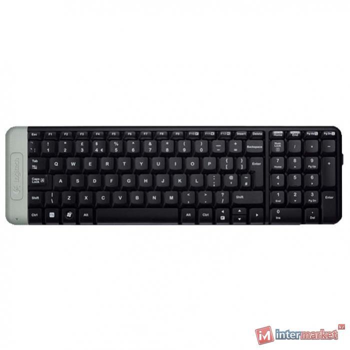 Клавиатура Logitech K230 Light Grey