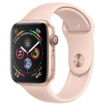 Умные часы APPLE Watch Series 4 GPS 40mm Gold Aluminium Case with Pink Sand Sport Band (MU682GK/A)