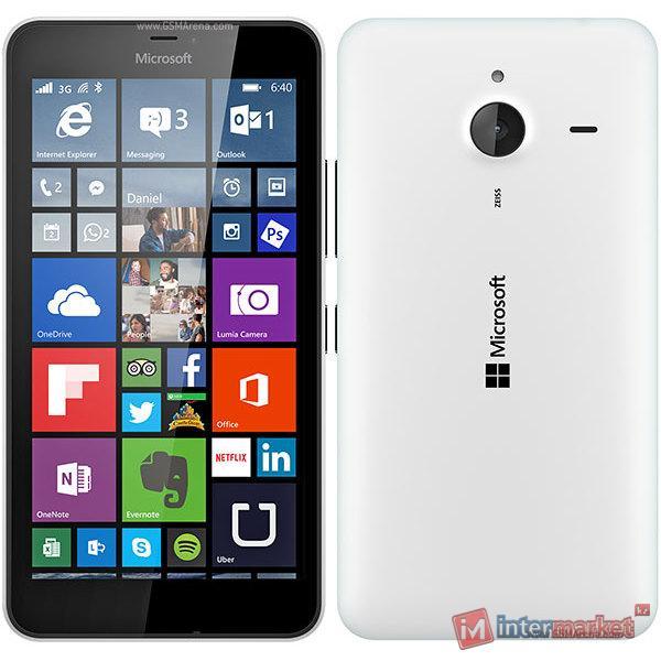 Смартфон Microsoft Lumia 640 Dual Sim, White
