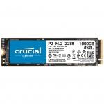 Твердотельный накопитель 1Tb SSD Crucial P2 3D NAND M,2 PCIe NVMe Gen3 R2400Mb/s W1800MB/s CT1000P2SSD8