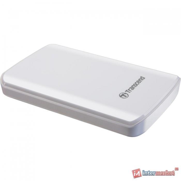 Внешний жесткий диск Transcend StoreJet 25D3 1Tb, White